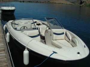 20' Openbow Bayliner Rental - Lake Entiat
